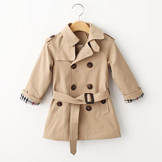 Solid Color Self Tie Turn-Down Collar Coat