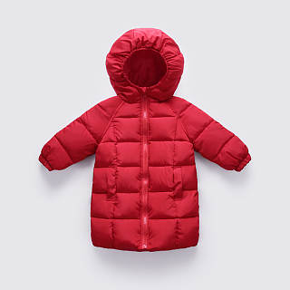 Solid Color Zipper Hooded Outerwear