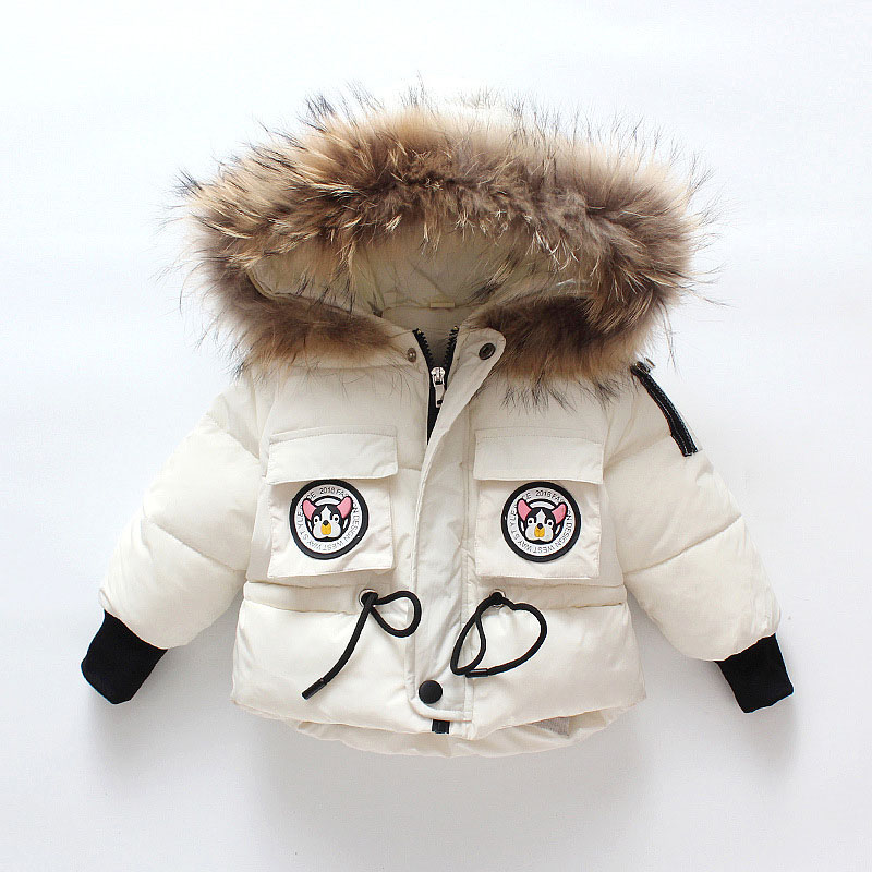 Hooded Drawstring Pocket Zipper Coat