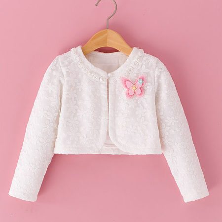 Flower Embossing Lace Cape