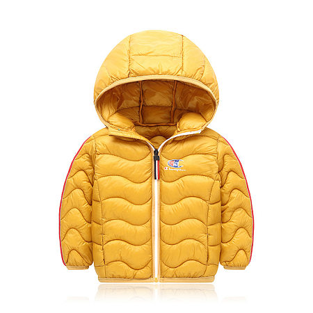 Solid Color Zipper Hooded Outwear