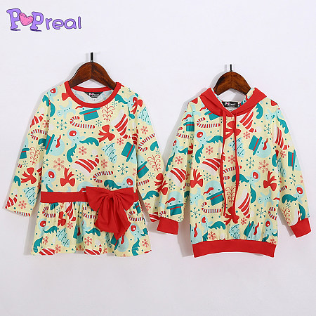 Buy Brother Sister Reindeer Pattern Matching Outfits, red, MY18082902 for $9.90 in Popreal store