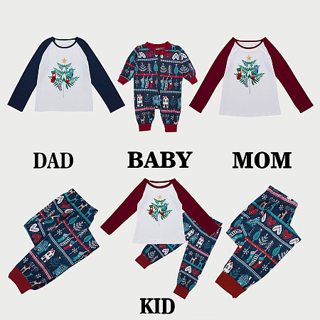 Christmas Geometric Pattern Matching Family Pajamas, 5699874