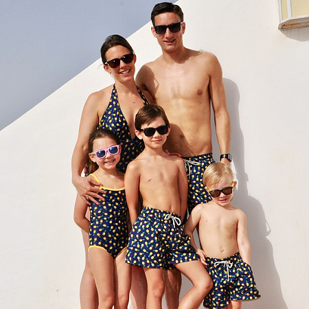 Pineapple Prints Family Matching Outfits