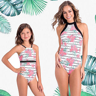 82b9e0626fbbd Mommy and Me Matching Swimwear Online Store- Popreal.com