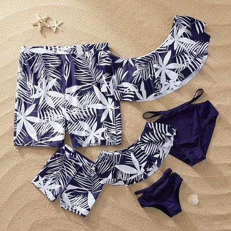 07a5be00f7f85 Tropical Palms Prints Family Matching Beachwear Only $15.99 - popreal.com