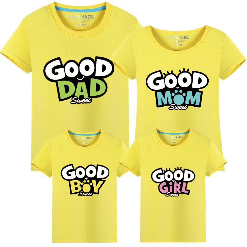 Parents Kids Comfortable Cotton Top