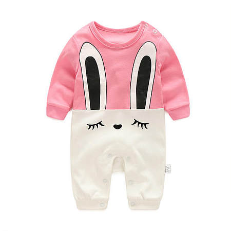 Adorable Bunny Style Baby Girls Boys Romper