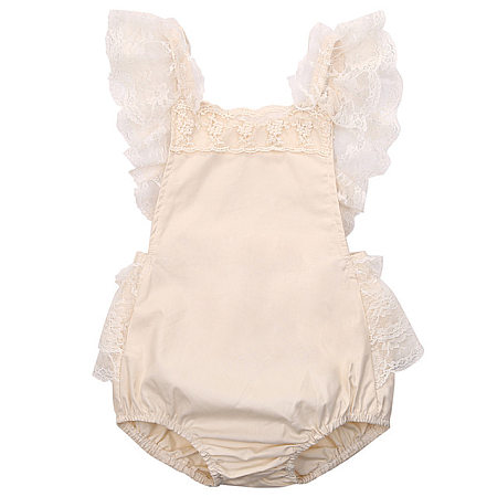 Baby Girls Sweet Lace Romper
