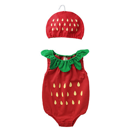 Fruits Print Adorable Breathable Romper
