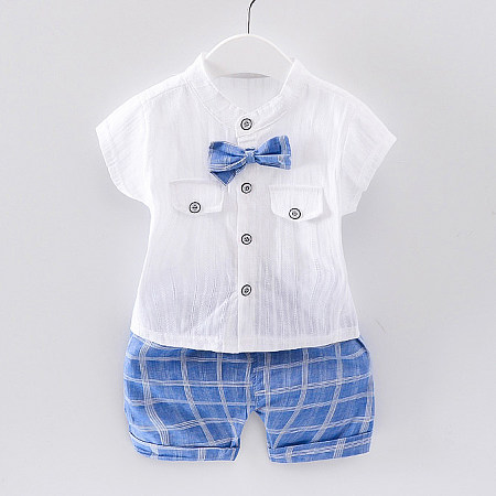 Bow Tie Summer Two Pieces  Set