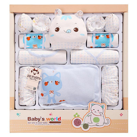 Cotton Newborn Baby Gift Boxes Clothes
