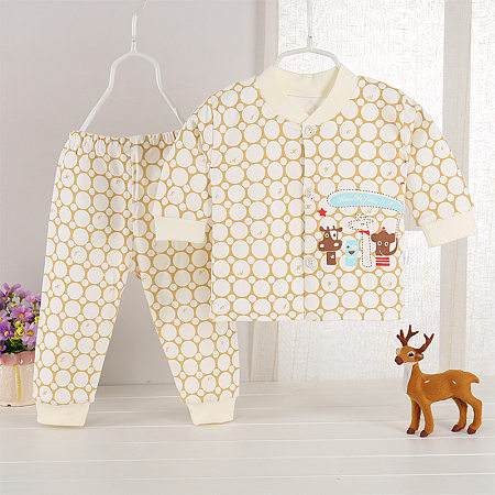Boys Girls Polka Dot Cute Animal Pattern Set