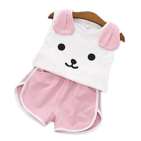 Puppy Style Girls Two Pieces Set