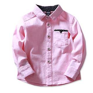 Boys Comfortable Cotton Shirt