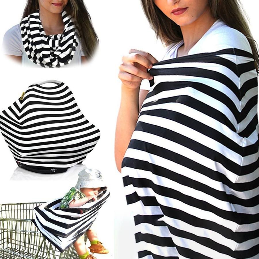 Stripe Multifunctional Nursing Cover