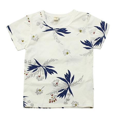 Botanical Prints Round Neck T-Shirt