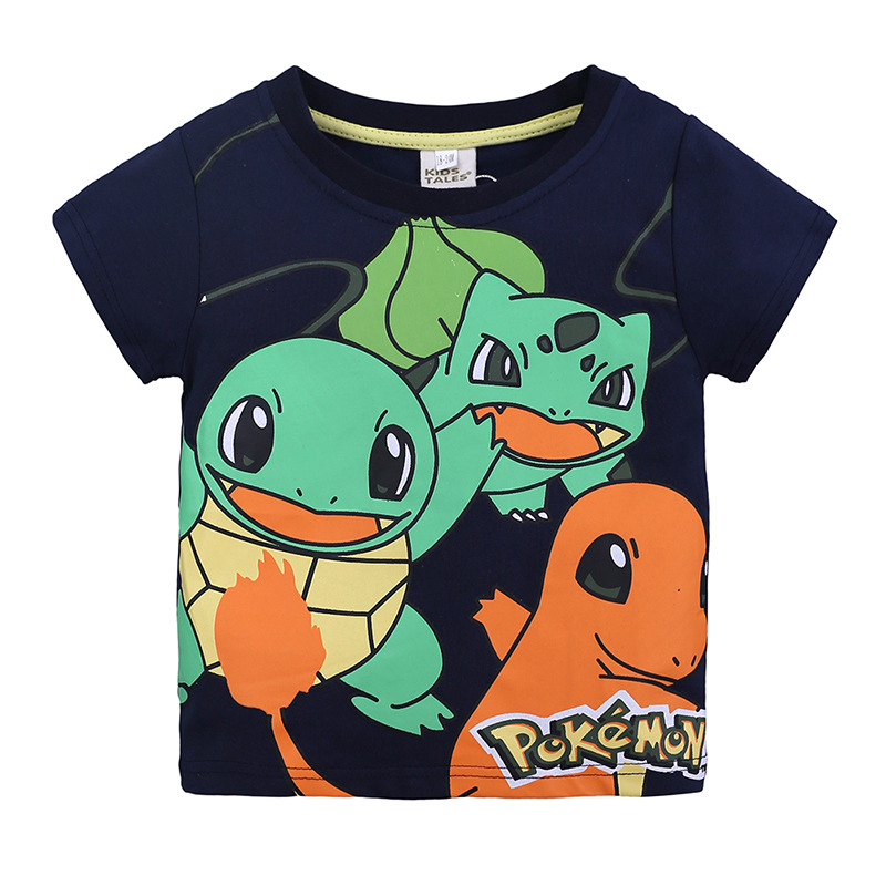 Cartoon Animals Pattern T-Shirt