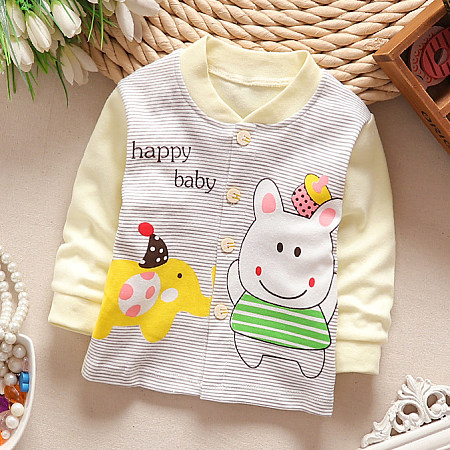 Cartoon Animals Letters Pattern Tops