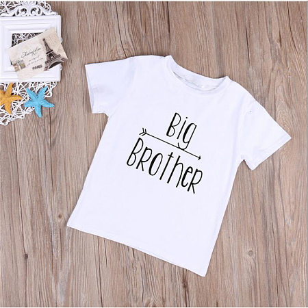 Big Brother Pattern Summer T-shirt