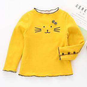 Cute Cartoon Cat Pattern Top