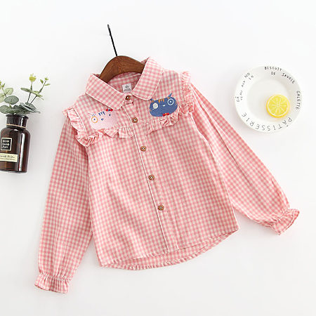 https://www.popreal.com/Products/ruffle-trim-plaid-shirt-24365.html?color=red