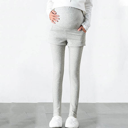 Maternity Thickened Abdomen Supportive Pants