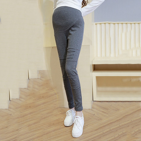 Maternity Abdomen Supportive Elastic Leggings