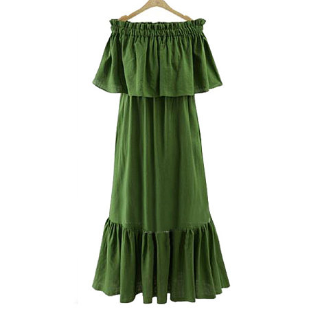 Fashion Off Shoulder Dress