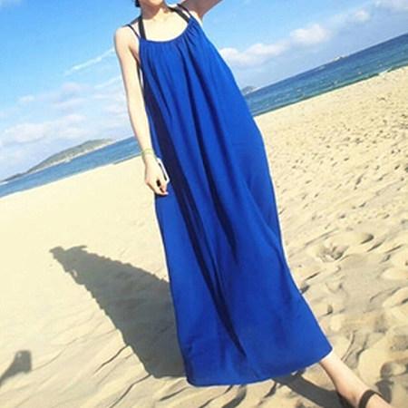 Beach Full Length Cami Dress