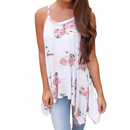 Cami Top In Floral Print